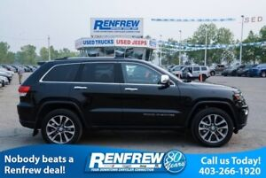 2018 Jeep Grand Cherokee Limited, Panoramic Roof, Nav, Remote St