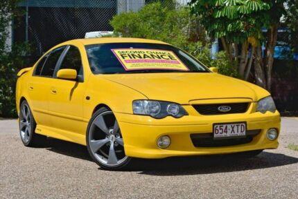 2005 Ford Falcon BA Mk II XR6 Turbo Yellow 4 Speed Sports Automatic Sedan