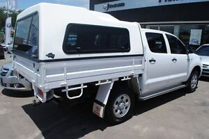 2009 Toyota Hilux KUN26R MY09 SR White 4 Speed Automatic Utility Townsville Townsville City Preview