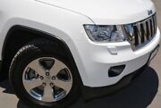 2013 Jeep Grand Cherokee WK Laredo (4x4) White 5 SP AUTOMATIC Wagon Welshpool Canning Area Preview