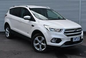 2018 Ford Escape ZG 2018.00MY Trend PwrShift AWD White 6 Speed Sports Automatic Dual Clutch Wagon Epping Whittlesea Area Preview