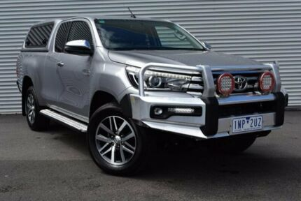 2017 Toyota Hilux GUN126R SR5 Extra Cab Silver 6 Speed Sports Automatic Utility Epping Whittlesea Area Preview
