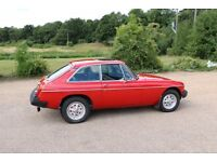 1981 MGB GT - unleaded, stainless exhaust