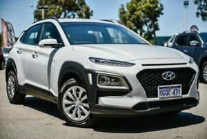 2018 Hyundai Kona OS.2 MY19 Go 2WD White 6 Speed Sports Automatic Wagon Midvale Mundaring Area Preview