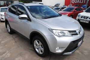 2013 Toyota RAV4 ASA44R MY14 GXL AWD Silver Pearl 6 Speed Sports Automatic Wagon Hyde Park Townsville City Preview