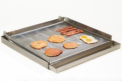 New 4 Burner Lift Off 24 Griddle Top Grease Trap Ugt-mc24 4600 Portable