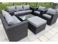 Garden patio set seats up to 8 people BRAND NEW