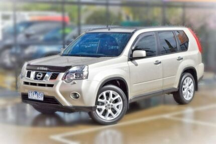2012 Nissan X-Trail T31 Series IV TI Gold 1 Speed Constant Variable Wagon