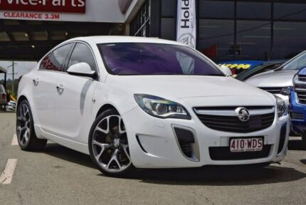 2015 Holden Insignia GA MY16 VXR AWD White 6 Speed Sports Automatic Sedan