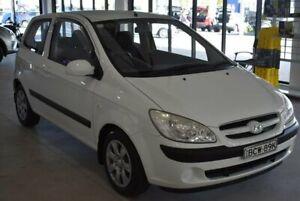 2007 Hyundai Getz TB MY06 White 5 Speed Manual Hatchback Port Macquarie Port Macquarie City Preview