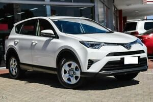 2017 Toyota RAV4 ZSA42R GX 2WD White 7 Speed Constant Variable Wagon