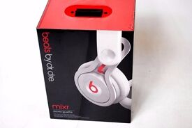 Beats Mixr DJ Lightweight Headphones White Brand New £120