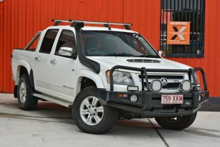 2011 Holden Colorado RC MY11 LT-R Crew Cab White 4 Speed Automatic Utility Molendinar Gold Coast City Preview
