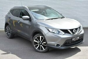 2016 Nissan Qashqai J11 TI Grey 1 Speed Constant Variable Wagon Epping Whittlesea Area Preview