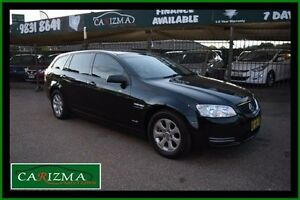 2012 Holden Commodore VE II MY12 Omega Black 6 Speed Automatic Sportswagon Toongabbie Parramatta Area Preview