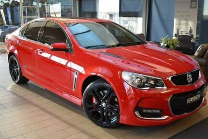 2016 Holden Commodore VF II SS-V Redline Red Hot 6 Speed Automatic Sedan
