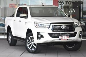 2019 Toyota Hilux GUN126R SR5 White Sports Automatic Indooroopilly Brisbane South West Preview
