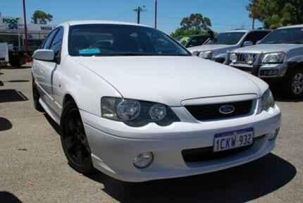 2005 Ford Falcon BA Mk II XR6 Turbo White 4 Speed Sports Automatic Sedan Bellevue Swan Area Preview
