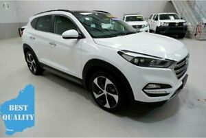 2017 Hyundai Tucson TLe MY17 Highlander D-CT AWD White 7 Speed Sports Automatic Dual Clutch Wagon Kenwick Gosnells Area Preview