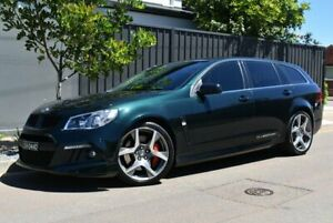 2014 Holden Special Vehicles ClubSport Gen-F MY14 R8 Tourer Green 6 Speed Sports Automatic Wagon Brighton Holdfast Bay Preview