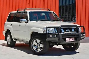 2012 Nissan Patrol Y61 GU 8 ST White 5 Speed Manual Wagon Molendinar Gold Coast City Preview