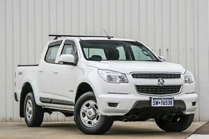 2013 Holden Colorado RG MY14 LX Crew Cab White 6 Speed Sports Automatic Utility Willetton Canning Area Preview