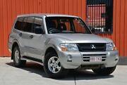 2003 Mitsubishi Pajero NP GLS Silver 5 Speed Sports Automatic Wagon Molendinar Gold Coast City Preview