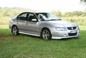 2004 Holden Commodore VZ SV6 Silver 6 Speed Manual Sedan
