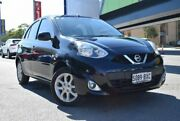 2015 Nissan Micra K13 Series 4 MY15 TI Black 4 Speed Automatic Hatchback St Marys Mitcham Area Preview