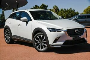 2019 Mazda CX-3 DK4W7A sTouring SKYACTIV-Drive i-ACTIV AWD White 6 Speed Sports Automatic Wagon Wangara Wanneroo Area Preview