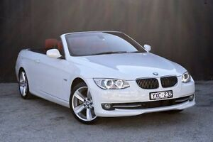 2012 BMW 330D E93 MY0911 Steptronic White 6 Speed Sports Automatic Convertible Berwick Casey Area Preview