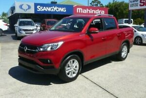 2019 Ssangyong Musso Q200 MY19 Ultimate Indian Red 6 Speed Automatic Dual Cab Utility Hendra Brisbane North East Preview
