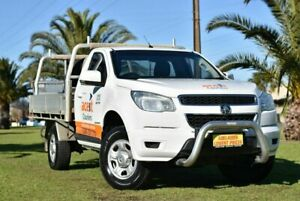 2014 Holden Colorado RG MY14 LX 4x2 White 6 Speed Sports Automatic Cab Chassis Cheltenham Charles Sturt Area Preview