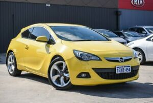 2013 Opel Astra AS Sport Yellow 6 Speed Sports Automatic Hatchback Midvale Mundaring Area Preview