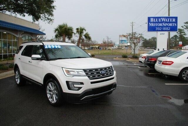 2017 Ford Explorer, White Platinum Metallic Tri-Coat with 48778 Miles available