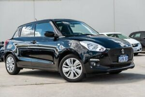 2019 Suzuki Swift AZ GL Navigator Black 1 Speed Constant Variable Hatchback Midvale Mundaring Area Preview
