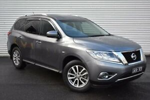 2016 Nissan Pathfinder R52 MY16 ST X-tronic 2WD Grey 1 Speed Constant Variable Wagon Epping Whittlesea Area Preview