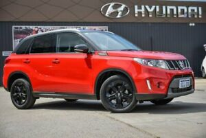 2017 Suzuki Vitara LY S Turbo 2WD Red 6 Speed Sports Automatic Wagon Midvale Mundaring Area Preview