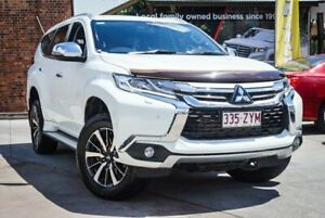 2017 Mitsubishi Pajero Sport MY17 Exceed (4x4) 7 Seat White 8 Speed Automatic Wagon