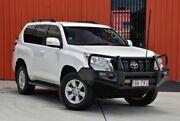 2014 Toyota Landcruiser Prado KDJ150R MY14 GXL White 5 Speed Sports Automatic Wagon Molendinar Gold Coast City Preview