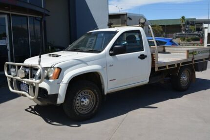 2008 Holden Colorado RC DX (4x4) White 5 Speed 5 SP MANUAL Cab Chassis