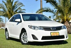 2012 Toyota Camry ASV50R Altise White 6 Speed Sports Automatic Sedan Cheltenham Charles Sturt Area Preview