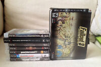 PS3 & PS4 VIDEO GAMES FOR SALE - JEUX VIDEO A VENDRE