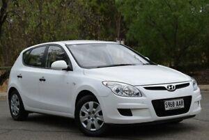 2008 Hyundai i30 FD SX White 5 Speed Manual Hatchback St Marys Mitcham Area Preview