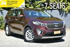 2016 Kia Sorento UM MY16 SI Maroon 6 Speed Sports Automatic Wagon Melrose Park Mitcham Area Preview