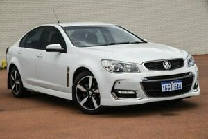 2017 Holden Commodore VF II MY17 SV6 White 6 Speed Sports Automatic Sedan Morley Bayswater Area Preview