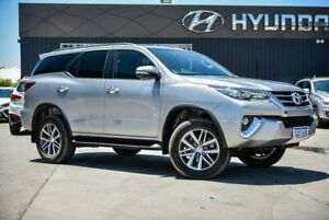 2015 Toyota Fortuner GUN156R Crusade Silver 6 Speed Automatic Wagon Midvale Mundaring Area Preview