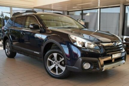 2013 Subaru Outback MY14 2.5I Black Continuous Variable Wagon