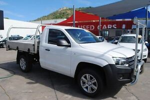 2012 Volkswagen Amarok 2H MY13 TSI300 White 6 Speed Manual Utility Townsville Townsville City Preview
