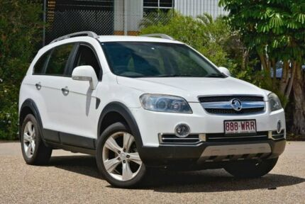 2008 Holden Captiva CG MY08 SX AWD White 5 Speed Sports Automatic Wagon